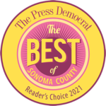 Best of Sonoma County Readers' Choice 2021 Winner